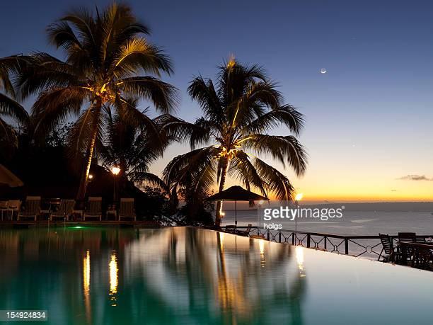 Abend im Iririki Island, Vanuatu