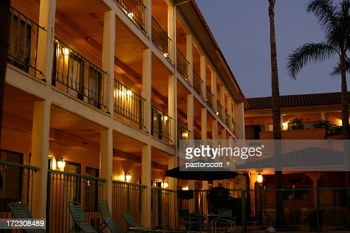 Nightime Hotel