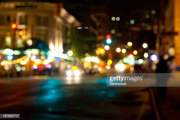 Nightlife in the city