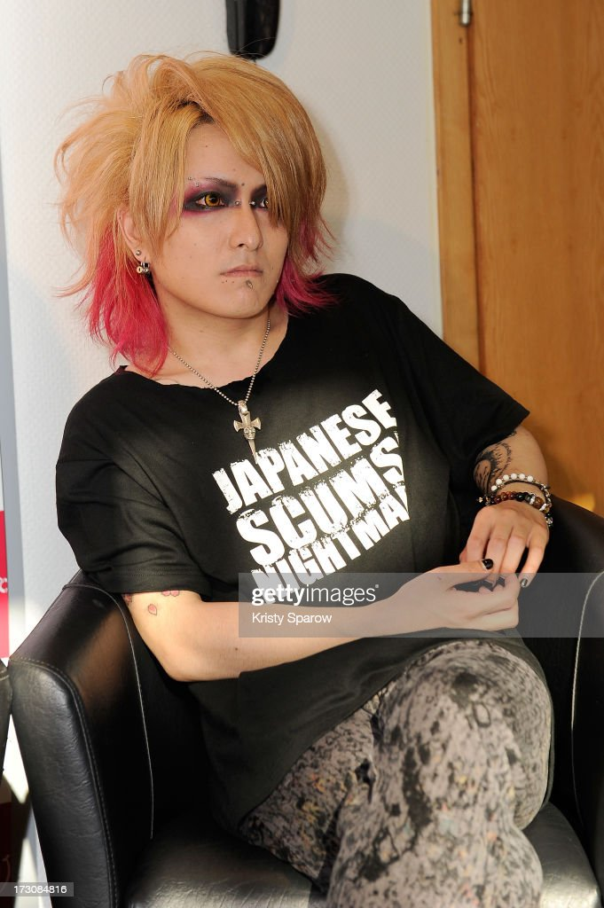 Nightmare meets with the press during the Japan Expo at Paris-nord Villepinte Exhibition Center on July 6, 2013 in Paris, France.