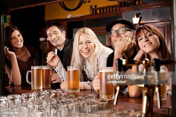 Nightout in einem pub