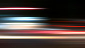 Abstract Nightride Speed in black Background