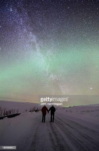 Nightsky in Tromvik