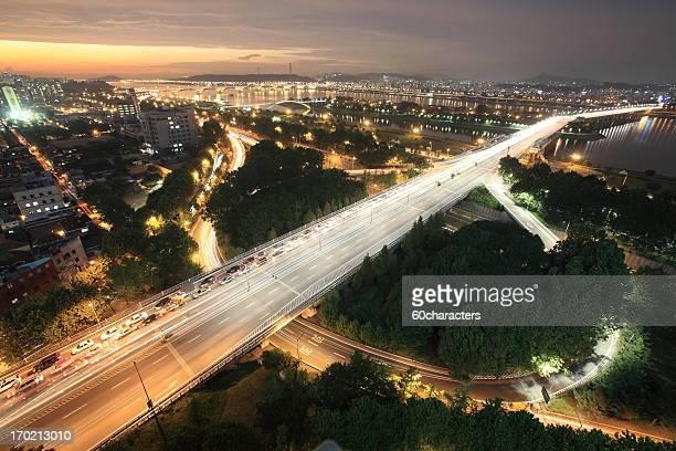nightview seoul, korea