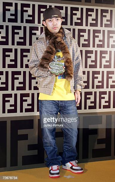 Nigo attends the Fendi party celebrating their new line of bags 'BMIX' which will be released in the spring/summer of 2007 at the National Stadium on...