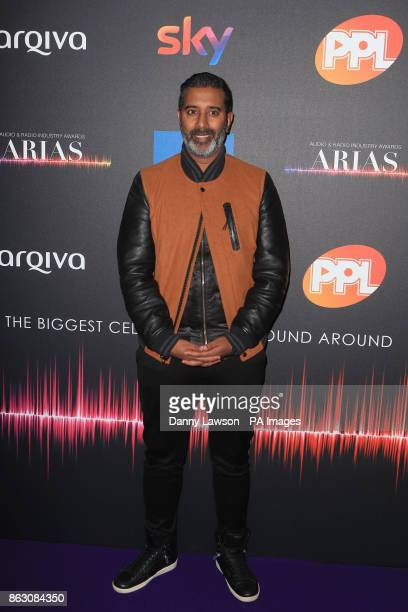 Nihal Arthanayake attending the Audio and Radio Industry Awards at the First Direct Arena in Leeds
