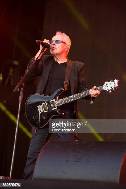 Nik Kershaw performs at Rewind Festival on August 19 2017 in HenleyonThames England