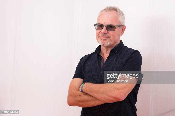 Nik Kershaw poses for phototgraphers at Rewind Festival on August 19 2017 in HenleyonThames England