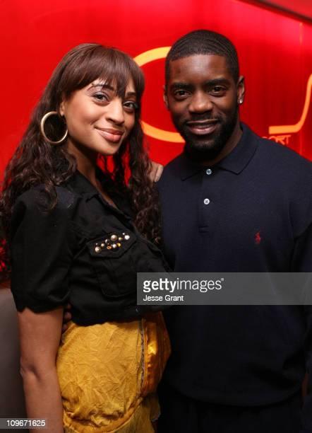 Nik Pace and Nicoye Banks during Eli Mizrahi Birthday Bash at GSpa Hotel Gansevoort in New York City New York United States