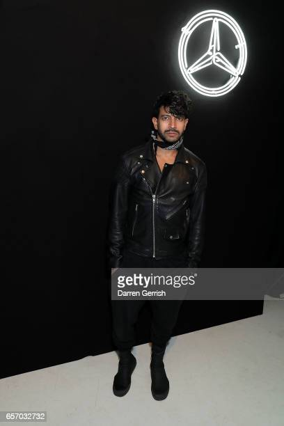Nik Thakkar attends the MercedesBenz #MBCOLLECTIVE Chapter 1 launch party with M I A and Tommy Genesis on March 23 2017 in London United Kingdom