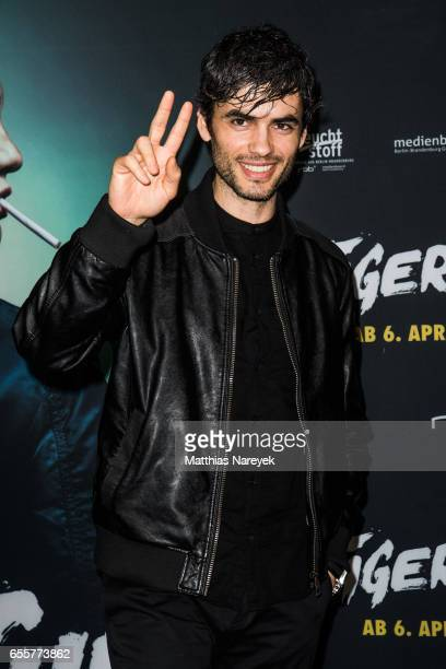 Nik Xhelilaj attends the premiere of the film 'Tiger Girl' at Zoo Palast on March 20 2017 in Berlin Germany
