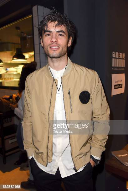 Nik Xhelilaj attends the Young ICONs Award in cooperation with HM and Tiffany's Co at BRLO Brwhouse on February 14 2017 in Berlin Germany