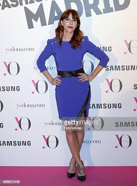Nika attends the 'Yo Dona' Party at the NH Collection Eurobuilding Hotel on September 17 2015 in Madrid Spain