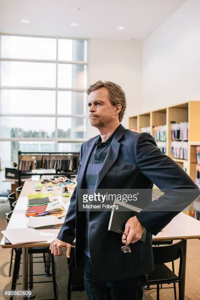 Nike CEO Mark Parker is photographed for Wall Street Jornal Magazine on August 22 2013 in Beaverton Oregon