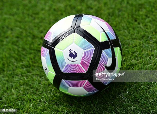 Nike match ball during the Premier League match between Tottenham Hotspur and Crystal Palace at White Hart Lane on August 20 2016 in London England