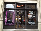 Nike Swish Logo at Lower Fifth Ave NYC Store