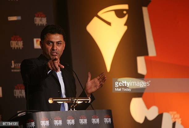 Nikesh Arora president of global sales and business development at Google Inc at the India Today Conclave in New Delhi on March 12 2010