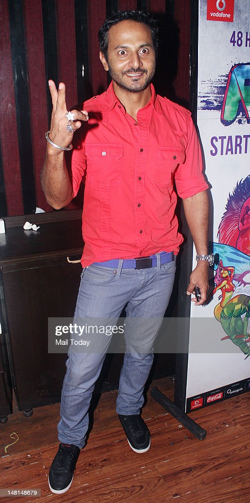 Nikhil Chinappa during the press meet of MTV Rush at Red Ant Cafe in Mumbai on July 10, 2012.