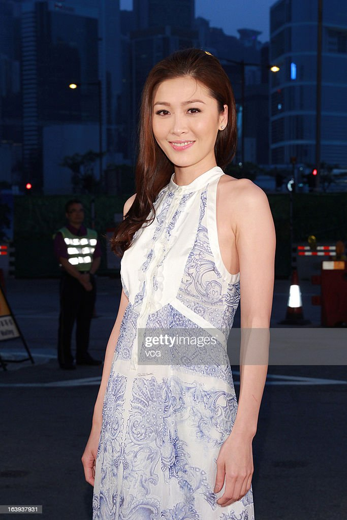 Niki Chow arrives at the red carpet of the 7th Asian Film Awards on March 18, 2013 in Hong Kong, China.