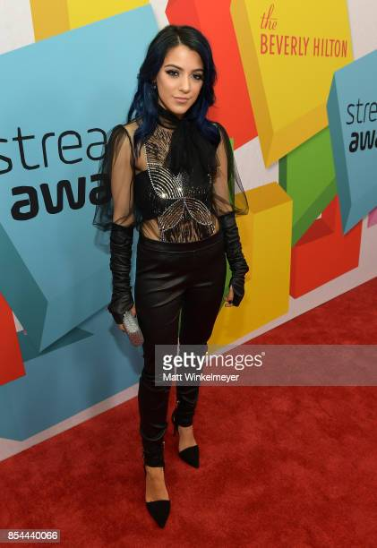 Niki DeMartino at the 2017 Streamy Awards at The Beverly Hilton Hotel on September 26 2017 in Beverly Hills California