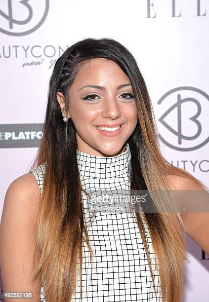 Niki Demartino attends the 3rd Annual BeautyCon Summit presented by ELLE Magazine at Pier 36 on May 24 2014 in New York City