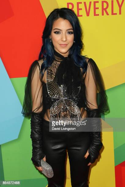 Niki DeMartino attends the 7th Annual 2017 Streamy Awards at The Beverly Hilton Hotel on September 26 2017 in Beverly Hills California