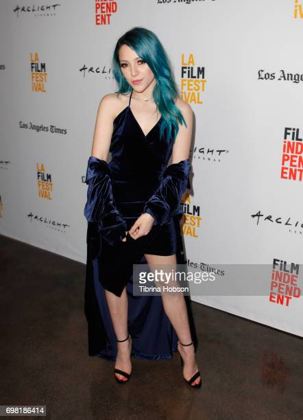 Niki DeMartino attends the screening of 'You Get Me' during the 2017 Los Angeles Film Festival at ArcLight Santa Monica on June 19 2017 in Santa...