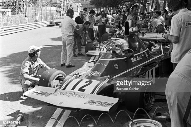 Niki Lauda Clay Regazzoni Ferrari 312B374 Grand Prix of Monaco Monaco 26 May 1974