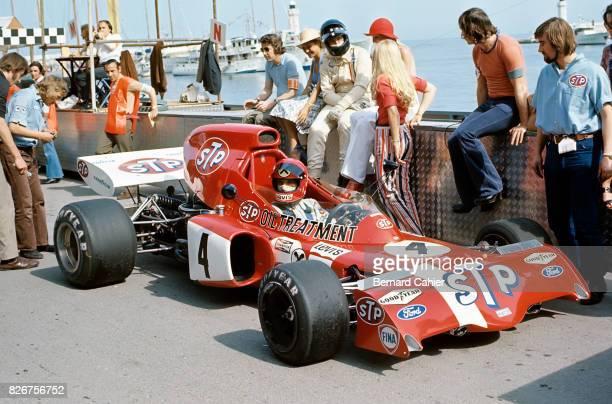 Niki Lauda Graham Hill MarchFord 721G Grand Prix of Monaco Monaco 14 May 1972