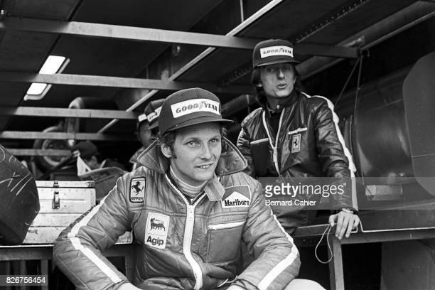 Niki Lauda Luca di Montezemolo Grand Prix of Sweden Anderstorp Raceway 09 June 1974