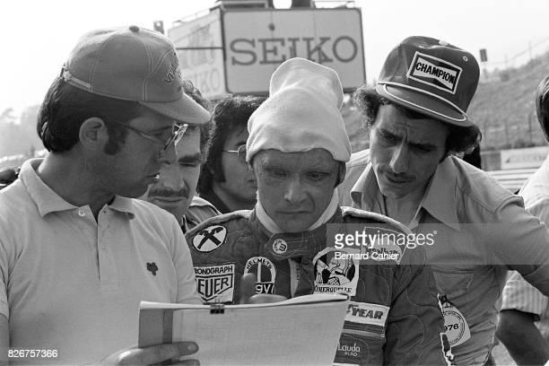 Niki Lauda Mauro Forghieri Grand Prix of Japan Fuji Speedway 24 October 1976
