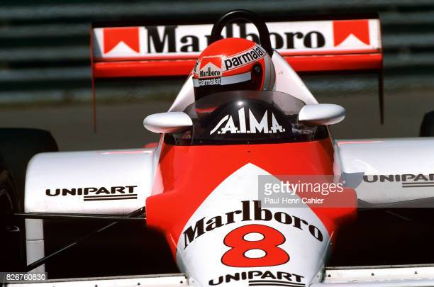 Niki Lauda McLarenFord MP4/1C Grand Prix of Canada Circuit Gilles Villeneuve 12 June 1983