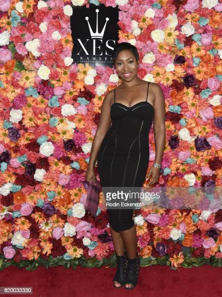 Niki McElroy at XES Sip Shop Slay at Therapy LA on July 20 2017 in Los Angeles California