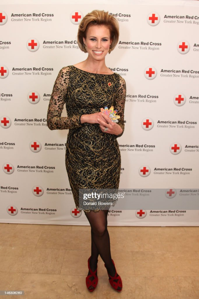 Niki Taylor celebrates the 2012 Nexcare Give Campaign and World Blood Donor Day at an American Red Cross Ball on June 13, 2012 in New York City.