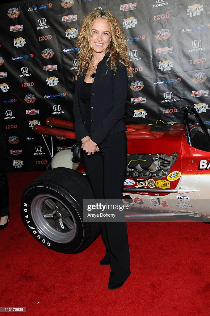Nikita Ager attends the Hollywood Celebrates 100th Anniversary Of The Indianapolis 500 at The Colony on April 13, 2011 in Los Angeles, California.