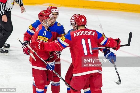 HOCKEY: MAY 21 IIHF World Championship Bronze medal game ...