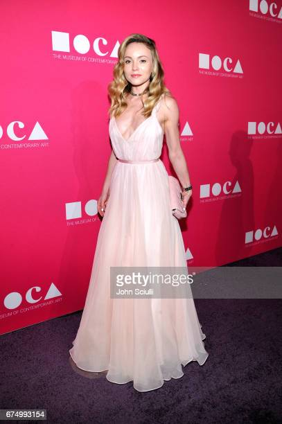 Nikita Kahn at the MOCA Gala 2017 honoring Jeff Koons at The Geffen Contemporary at MOCA on April 29 2017 in Los Angeles California