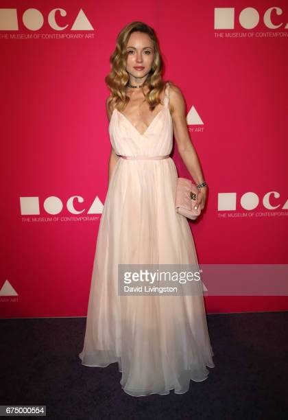 Nikita Kahn attends the 2017 MOCA Gala at The Geffen Contemporary at MOCA on April 29 2017 in Los Angeles California