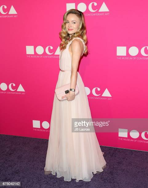 Nikita Kahn attends the MOCA Gala 2017 on April 29 2017 in Los Angeles California