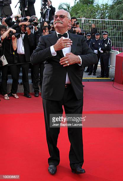 Nikita Mikhalkov attends the 'Exodus Burnt By The Sun 2' Premiere held at the Palais des Festivals during the 63rd Annual International Cannes Film...