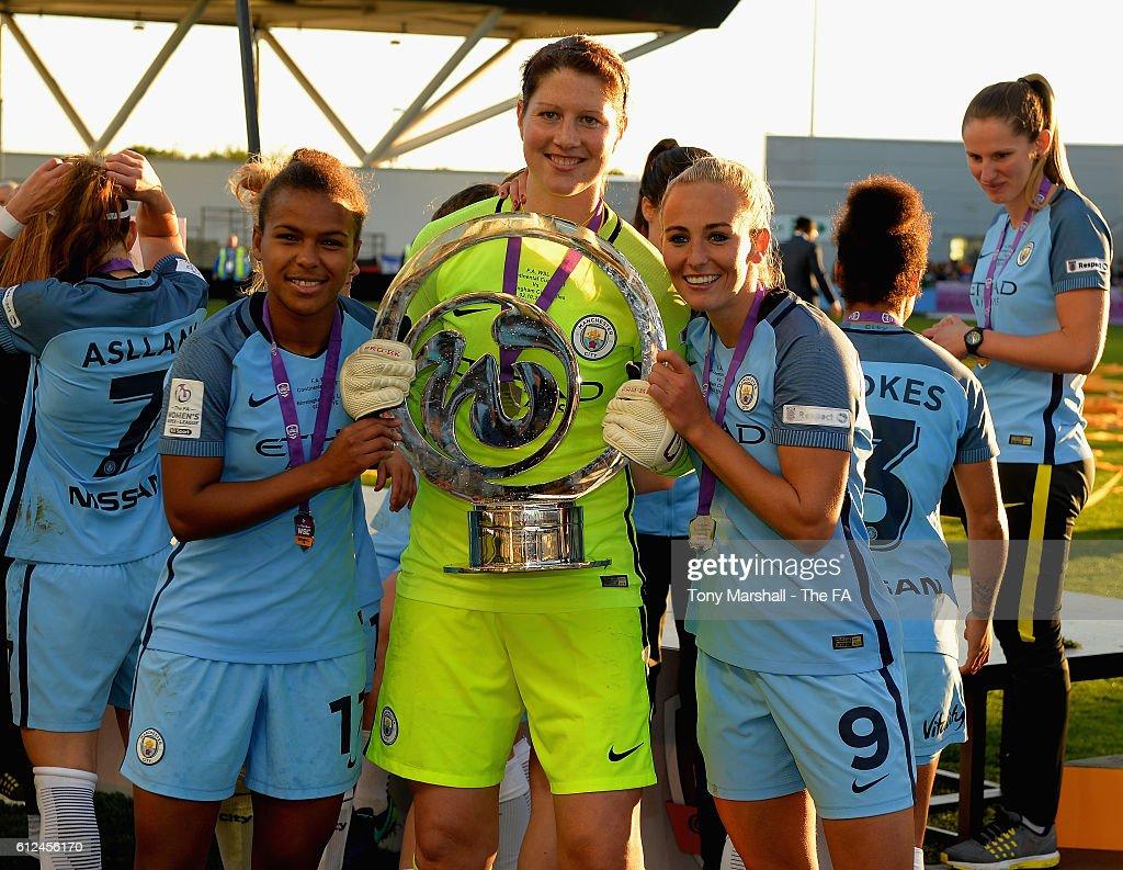 Manchester City Women v Birmingham City Ladies - Continental Cup Final : News Photo
