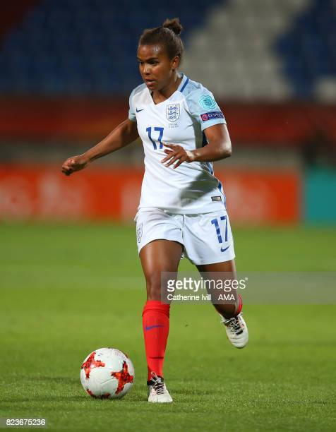 Nikita Parris of England Women during the UEFA Women's Euro 2017 match between Portugal and England at Koning Willem II Stadium on July 27 2017 in...