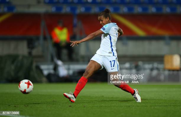 Nikita Parris of England Women scores a goal to make it 21 during the UEFA Women's Euro 2017 match between Portugal and England at Koning Willem II...