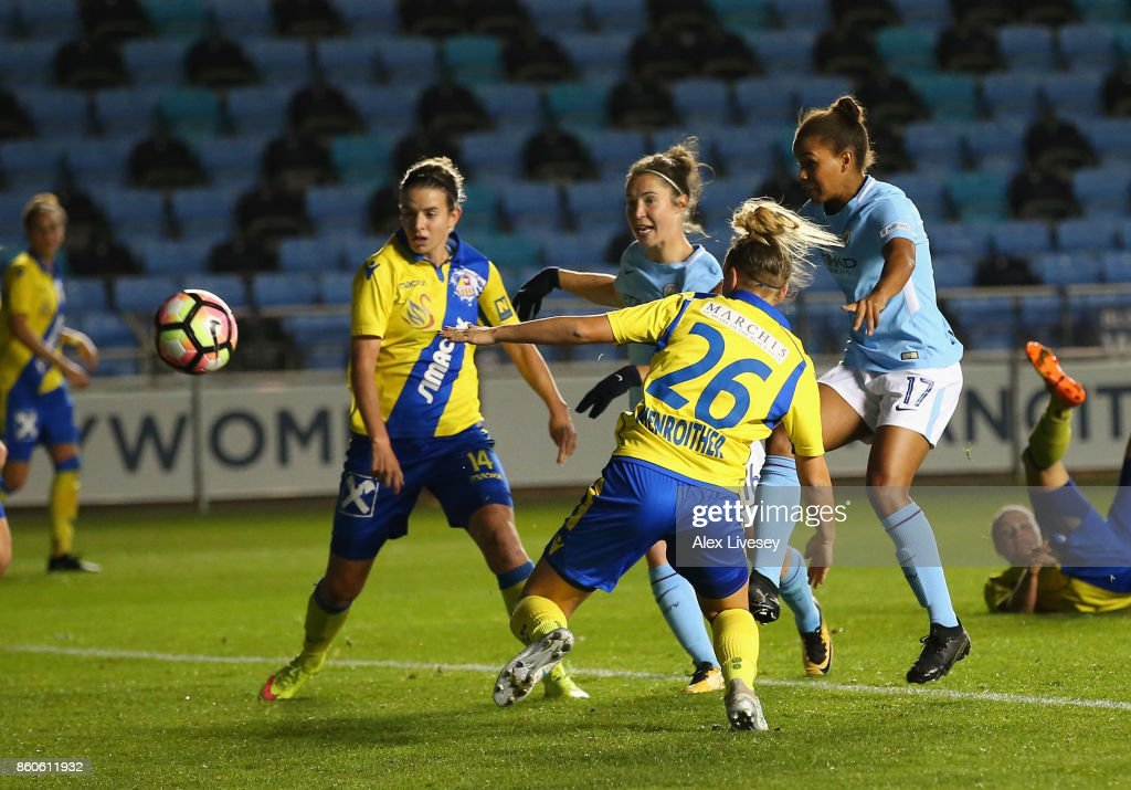 Manchester City Ladies v St. Polten Ladies: UEFA Women's Champions League