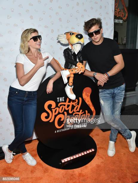 Nikki Banner and River Viiperi attend as The Spotted Cheetah opens in New York City with celebrity chef Anne Burrell serving up a limitedtime...