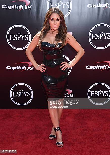Nikki Bella arrives at The 2016 ESPYS at Microsoft Theater on July 13 2016 in Los Angeles California