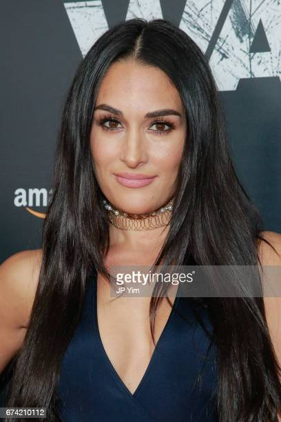 Nikki Bella attends the premiere of 'The Wall' at Regal Union Square Theatre Stadium 14 on April 27 2017 in New York City