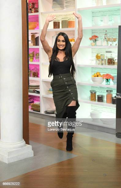 THE CHEW Nikki Bella is the guest Friday April 7 2017 on ABC's 'The Chew' 'The Chew' airs MONDAY FRIDAY on the ABC Television Network BELLA