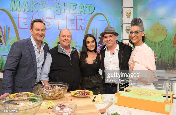 THE CHEW Nikki Bella is the guest Friday April 7 2017 on ABC's 'The Chew' 'The Chew' airs MONDAY FRIDAY on the ABC Television Network HALL