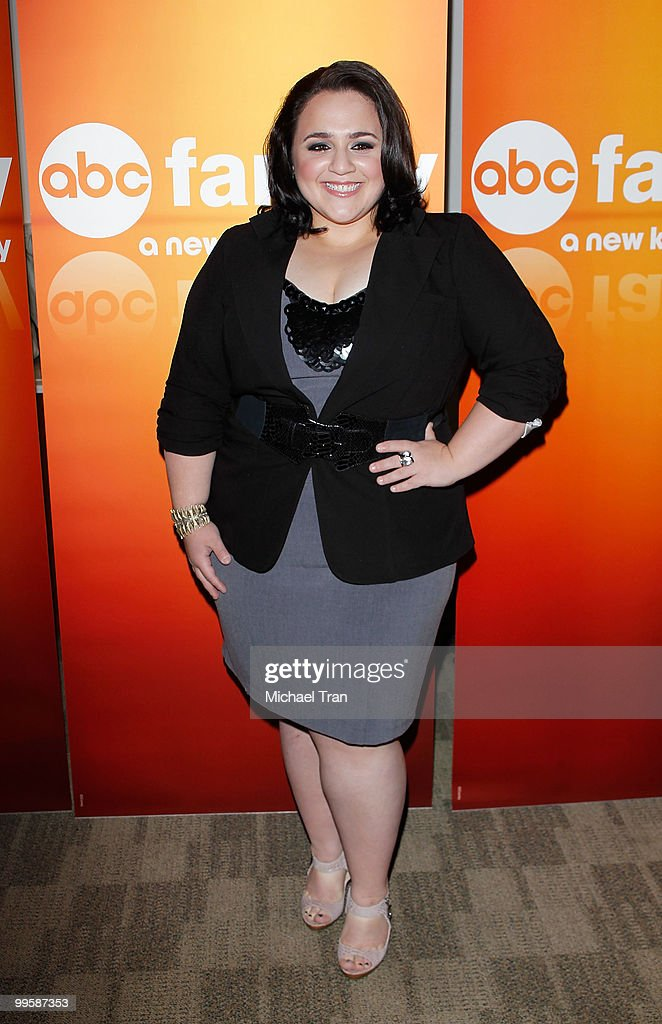 Nikki Blonsky arrives to the Disney/ABC Television Group press junket held at the ABC Television Network Building on May 15, 2010 in Burbank, California.